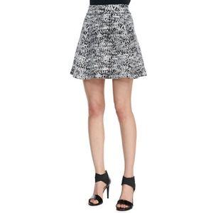 Theory Doreene C in Tweedscape Knit Skirt L